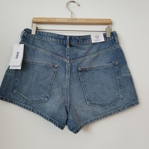 H&M Shorts - 3/$25 💜NWT H&M High Waist Denim Shorts, 14